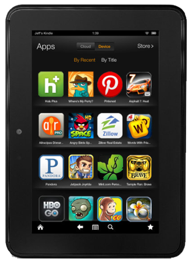 kindle fire app development services in delhi